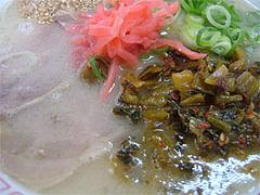 高菜(たかな)ラーメン650円@長浜ナンバーワン祇園店