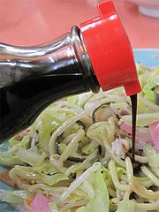 15ランチ:新地太麺皿うどん・ウスターソース@長崎チャンポン・あっちゃん亭・あっちゃんぽん