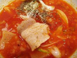 16完熟トマトつけ麺肉@ちゃが商店