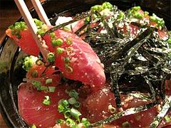 料理:けんしろうめしアップ@柳橋もつ元柳橋連合市場・福岡