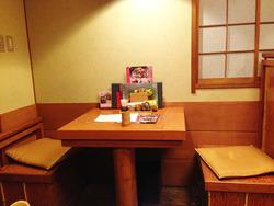 3テーブル席@つるとんたん北新地