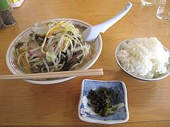 7ランチ:ちゃんぽんと白飯@ちゃんぽんとめし