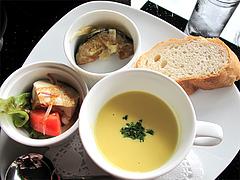 料理:パスタランチの前菜@PALM BEACH R style(パームビーチ アールスタイル)