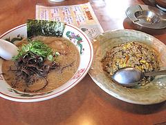 10ランチ:半焼き飯セット780円@らーめん筑後屋・大野城店