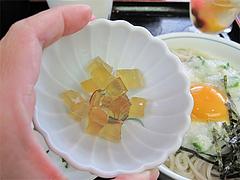 料理:コラーゲンゼリー@そば茶屋・華元本店