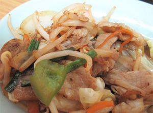 17野菜炒めがん見@福竜軒