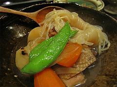 料理:地鶏の肉じゃが@平・大手門