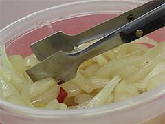 料理:食べ放題ミニらっきょう@王龍ラーメン・福岡市中央区赤坂