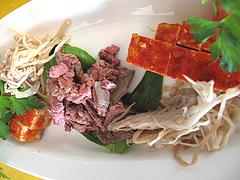 3パプリカ豆腐・エノキ茸・レバーの燻製@燻製工房燻香(けむか)・春日