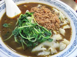6黒担々刀削麺@味覚