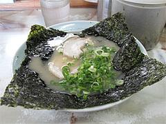料理・岩のりラーメン600円@昭和福一ラーメン五十川店(那珂店)