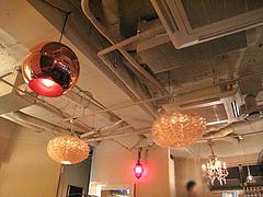 店内:シーリング@cafe tempo(カフェ・テンポ)・今泉・天神