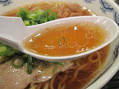 料理:中華そば(醤油ラーメン)スープ@中華そば藤王・小倉
