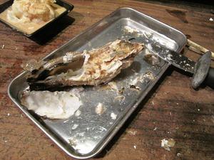 15生牡蠣むき1@海賊船