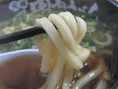 9ランチ:肉じるうどん麺@元祖肉肉うどん・春日店