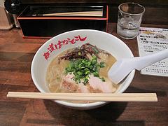 5ランチ:鶏とろラーメン650円@麺道はなもこし・薬院・ラーメン・つけ麺