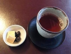 7お茶とお干菓子@茶寮・宝泉