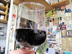 18料理:赤ワイン@鉄板焼・お好み焼き・居酒屋・好味(このみ)