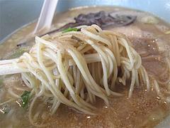 16ランチ:豚骨ラーメン麺@博多担々麺まるみや・渡辺通り店・春吉