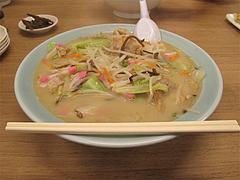 15ランチ:野菜たっぷりちゃんぽんセット680円@長浜将軍・ラーメン・那珂川店