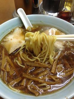 6竹の子そば麺@中華そば共楽