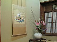 店内:床の間@料亭きくしげ