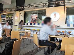 店内:喫煙席@カフェ・オットー・リバレイン博多