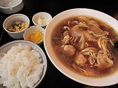 9ランチ:中華ラーメン定食650円@中華・同福居