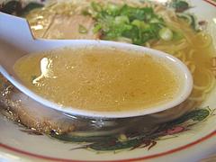 8ランチ:ラーメンスープ@白龍食堂・那珂川