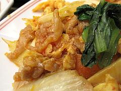 料理:定食の豚肉と卵のピリ辛炒め@八仙閣・博多駅東