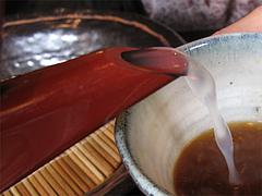 ランチ:蕎麦湯@生そば・あずま・長住店