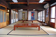 3店内:一階お座敷@旧川口邸・季節料理なごみ・八女市上陽町