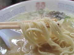 料理:ラーメン麺@麺屋多吉・ラーメン・大橋