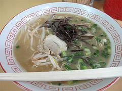 料理:戦後の味ラーメン450円@長浜ラーメン量亭