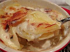 10夜の食事:グラタン・ドフィノワ@La Terra(ラ・テッラ)・イタリアン・七隈
