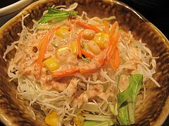 料理:ビーフステーキサラダ@やよい軒・天神2丁目店