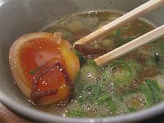 13つけ麺:鶏つけそばの具@麺道はなもこし(花もこし)・薬院
