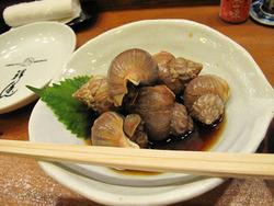 2つぶ貝の煮付け@祥茶ん