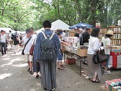 3着物男子@下鴨神社・納涼古本まつり(古本市)2012