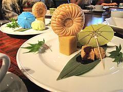 料理:和菓子プレート@HAKATA-ONO(ハカタオノ)・天神