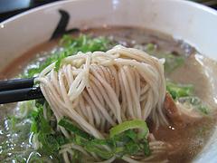 メニュー:ラーメン麺は極細です。@秀ちゃんラーメン本店・警固