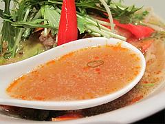 料理:野菜胡麻坦麺スープ@博多屋・渡辺通