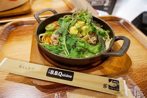 【福岡】福岡空港で懐かし名物『ビーフバター焼き』進化版♪@天神B.B.Quisine