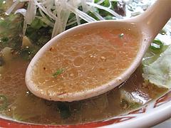 料理:角煮らーめんスープ@ラーメン本舗・博多葱一・天神