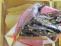 料理:田作り・数の子@2011セントラルホテル福岡お節(おせち)・一の重