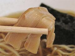 料理:中華そばのシナチク(メンマ)@竹園・百年橋店