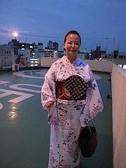 屋上・コンヤスカイで涼む@紺屋2023プロジェクト・大濠花火大会2011