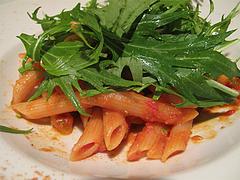 12夜の食事:ペンネ・アラビアータ@La Terra(ラ・テッラ)・イタリアン・七隈
