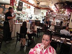 店内:フロア中央1@Pizzeria Da Gaetano(ピッツェリア・ダ・ガエターノ)・薬院・福岡