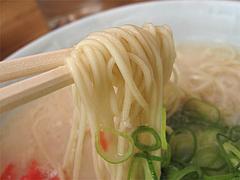 料理:ラーメン麺@博多濃麻呂・東比恵店